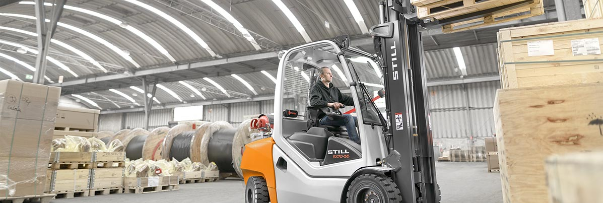 Used forklifts | Electronics industry