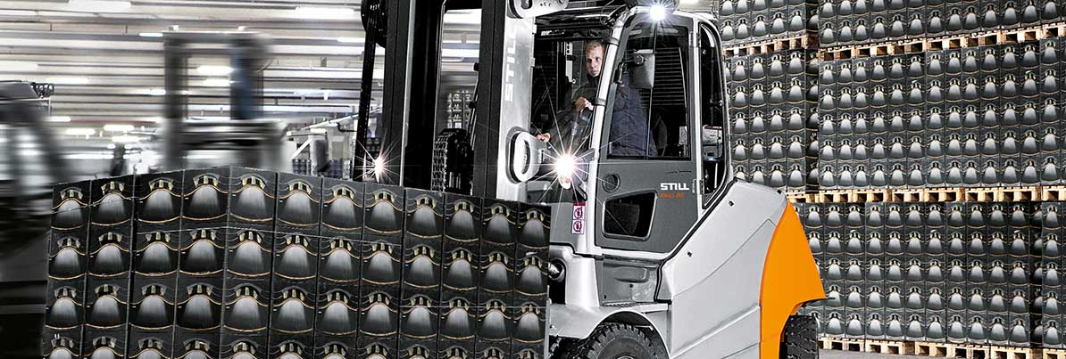 Used forklifts | Beverage industry