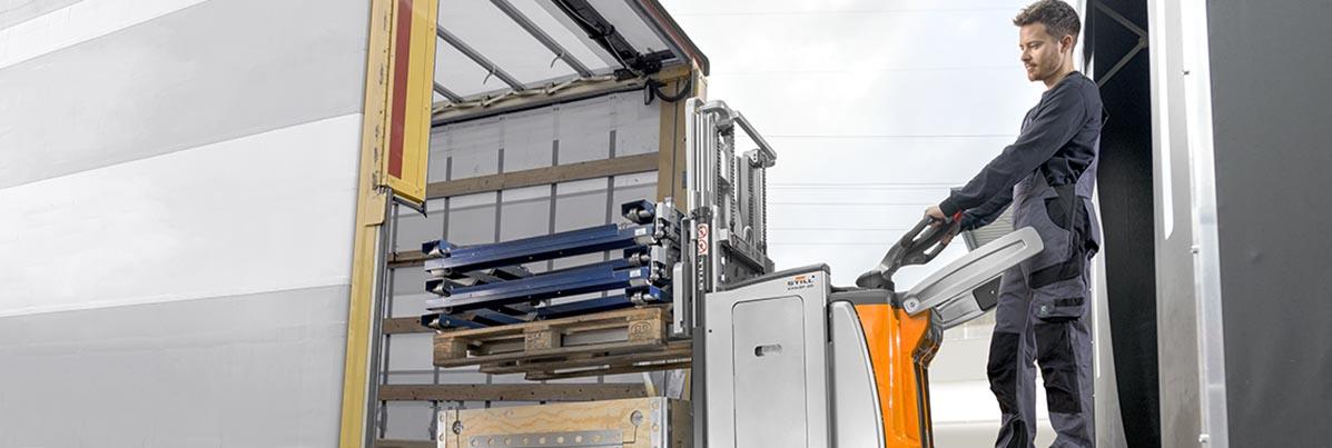 Gebrauchte Gabelstapler | Logistik